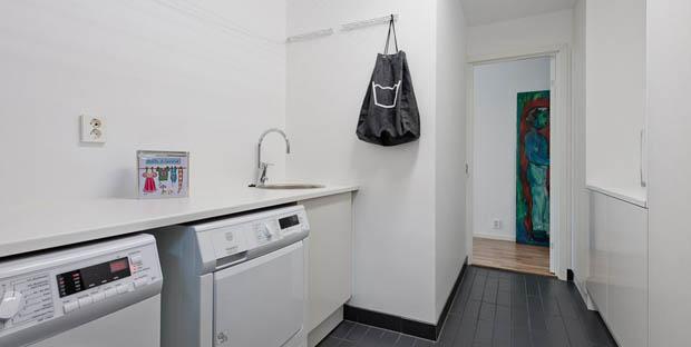 ห้องซักผ้าในบ้าน