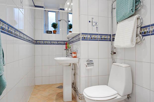 ห้องน้ำในอพาร์ทเม้นท์