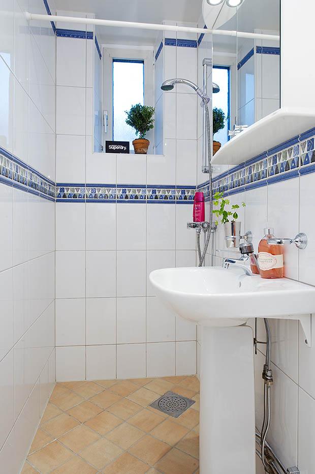 ห้องน้ำเล็กๆแต่งน่ารัก