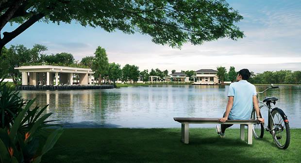 สวนสาธารณะ โครงการบ้าน แลนด์ แอนด์ เฮาส์