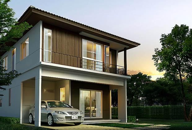 แบบบ้านตัวอย่าง Land and House