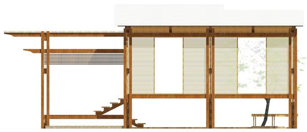 สถาปนิกออกแบบบ้านไม้ สวยงดงาม