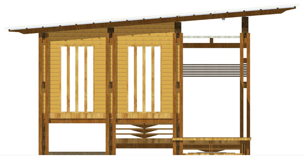 แบบผนังบ้านไม้