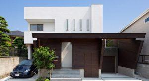 บ้านสไตล์โมเดิร์นในญี่ปุ่น