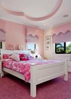 เตียงนอนไม้ สีขาว