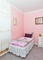 ทาสีผนังห้องนอน
