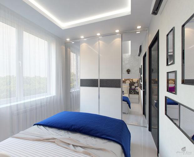 ผ้าม่านห้องนอน สีขาวบาง
