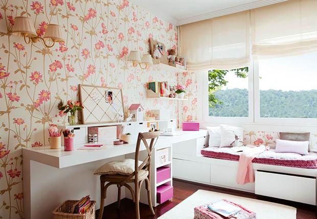 ห้องนอนสีชมพู น่ารักที่สุดในโลก