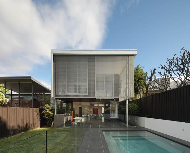 แบบบ้านพักอาศัย เป็นส่วนตัวมีสระว่ายน้ำ