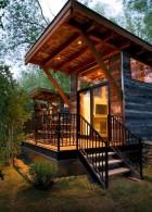 แบบบ้านไม้ขนาดเล็กๆ