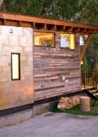 ผนังบ้านไม้ ลายสวย