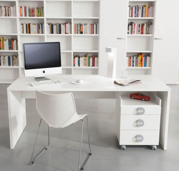 โต๊ะคอมพิวเตอร์ ชั้นวางหนังสือ