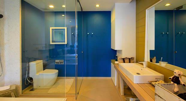 ตัวอย่างห้องน้ำ คอนโดมิเนียม