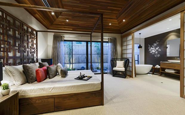 ภาพห้องนอนสวย แบบธรรมชาติ