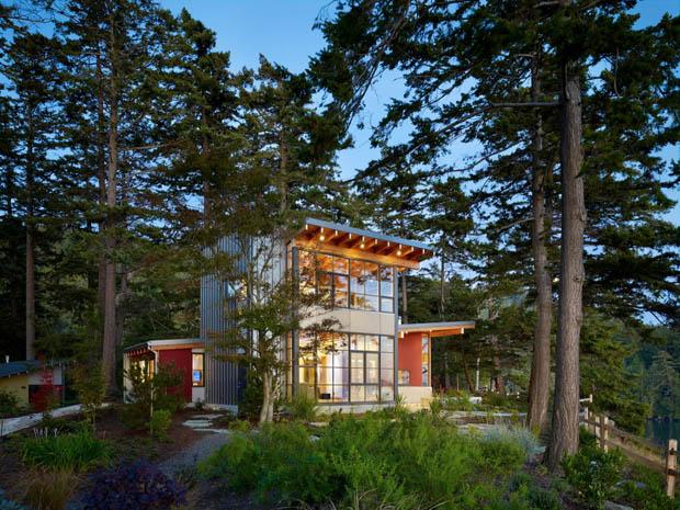การสร้างบ้าน ในป่า