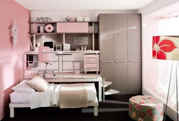 ตู้เสื้อผ้า โต๊ะคอม เตียงนอน