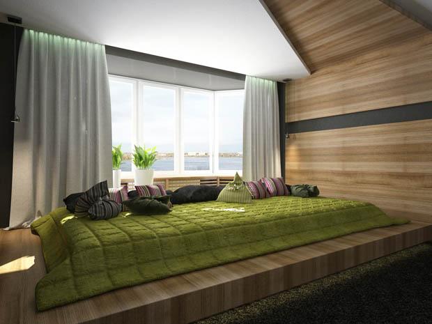 แต่งห้องนอนสวย