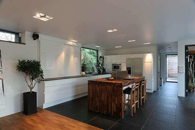 ห้องครัว บ้านไม้
