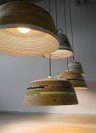 แสงสว่างจากโคมไฟ