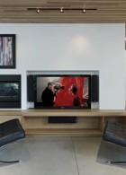 การจัดวางทีวี และเครื่องเสียง