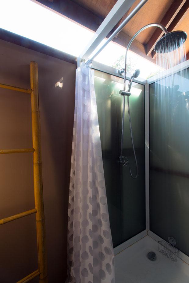 ห้องอาบน้ำ Open Air แพ 500 ไร่