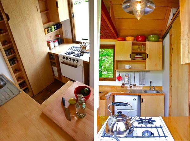 แบบครัว บ้านไม้เล็ก