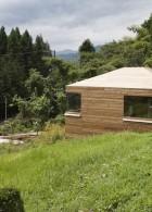 แบบบ้านไม้ บนเนินเขา