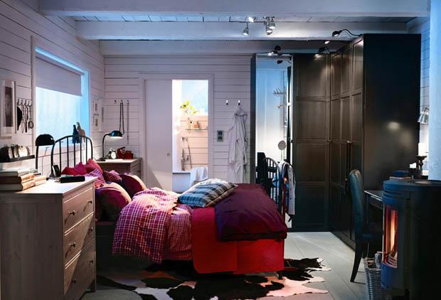 แบบห้องนอน IKEA