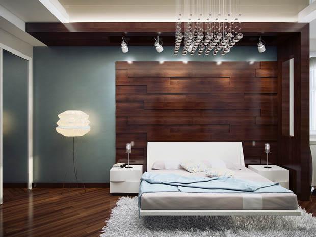 ผนังห้องนอนสวย