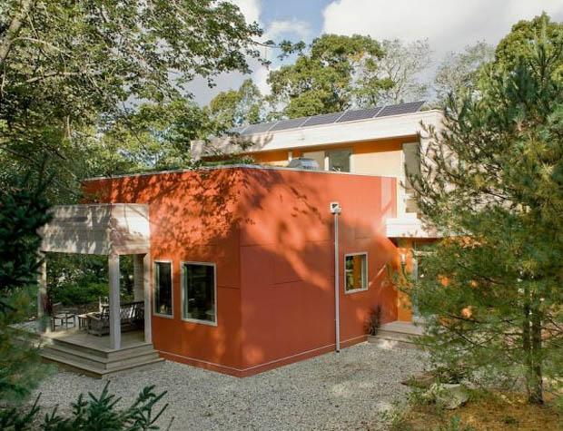 ผนังบ้านสีสวย