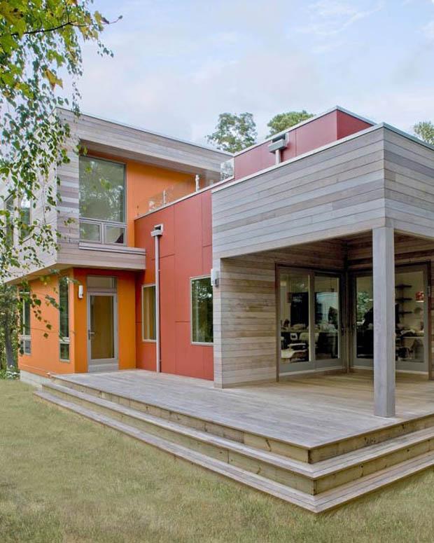 for Design eco casa verde