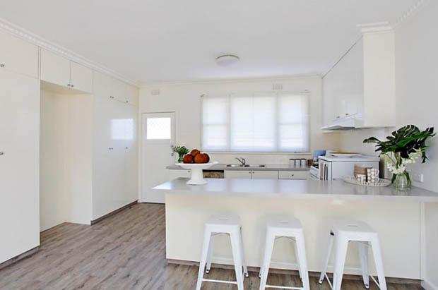 ห้องครัวสีขาว