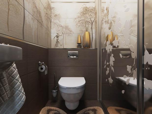ห้องน้ำสวยเล็กๆ