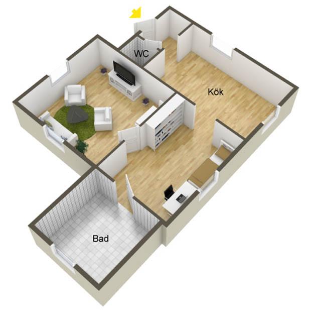 แปลนบ้านขนาดเล็ก