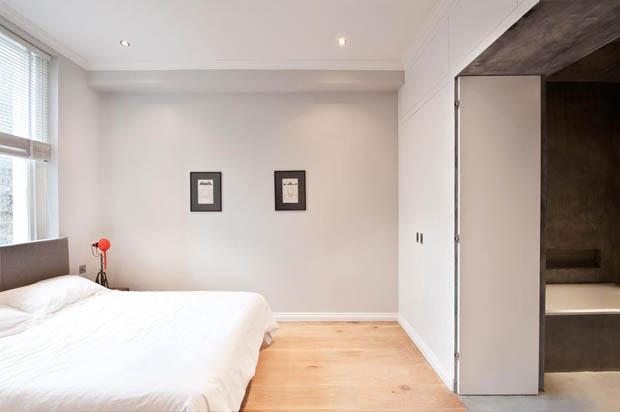 ห้องนอนเล็กๆ คอนโด