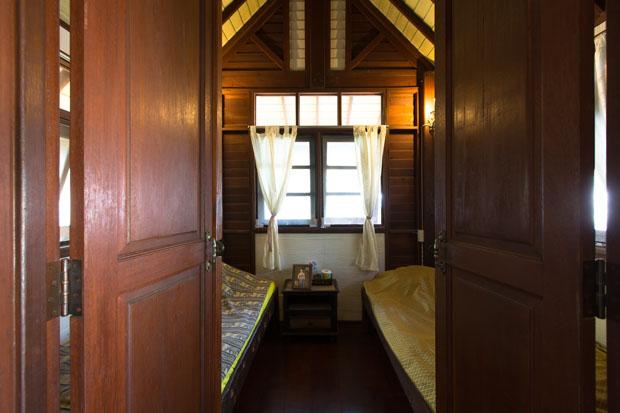 ห้องนอนเล็ก 2 เตียงนอน