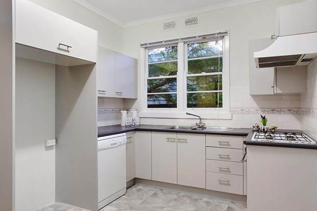 แต่งห้องครัวสีขาว