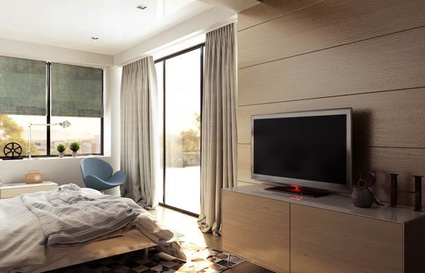 ห้องนอนสวย