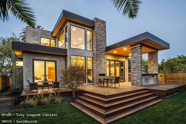 บ้านสองชั้น คอนเทมโพรารี่