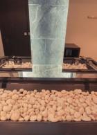 หินน้ำตกเทียม ตกแต่งห้องน้ำ