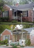 ต่อเติมหน้าบ้าน Before After