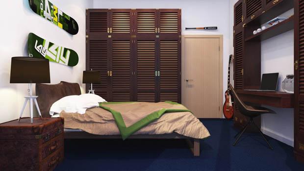 ห้องนอนผู้ชาย