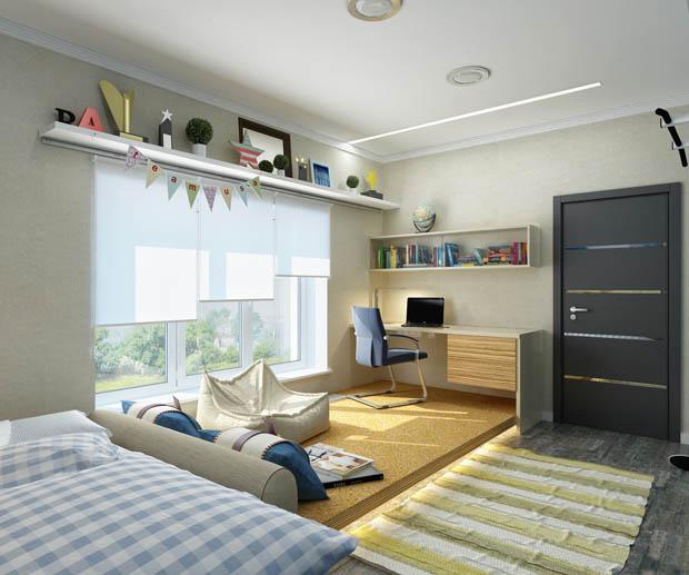 ห้องนอนกว้างๆ