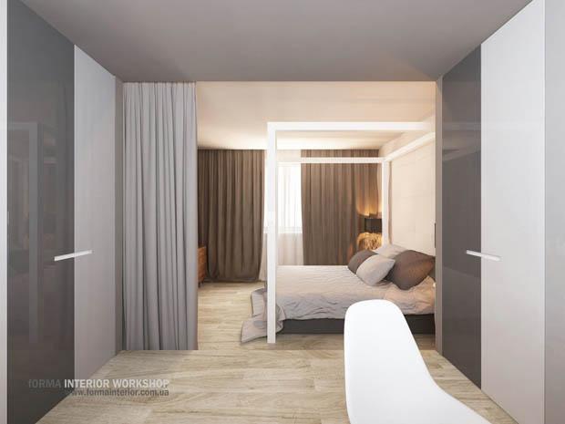 การออกแบบห้องนอนหรู