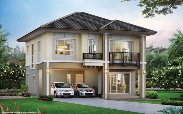 บ้านใหม่สองชั้น ใกล้ทางด่วน
