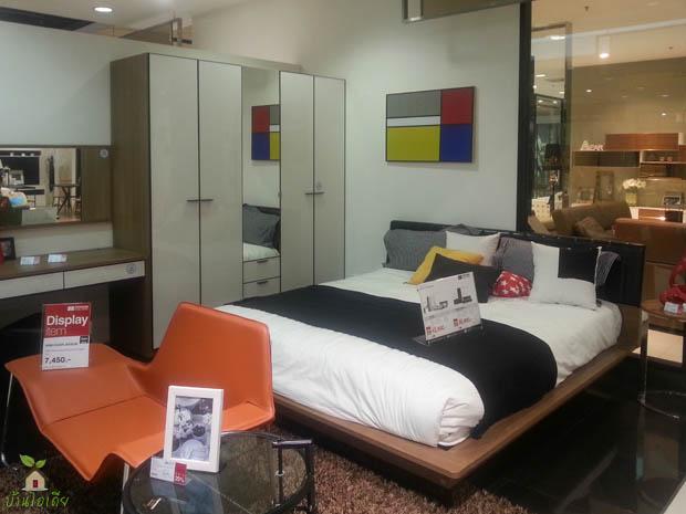 แบบเตียงนอน SB Design Square