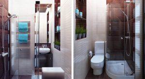 ตกแต่งห้องน้ำขนาดเล็ก
