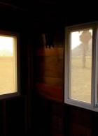 กระจกหน้าต่าง กระจกดำ