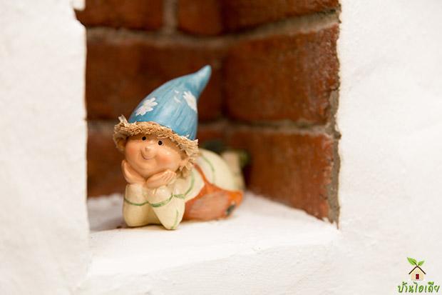 ตุ๊กตาปูนปั้น สำหรับแต่งบ้าน