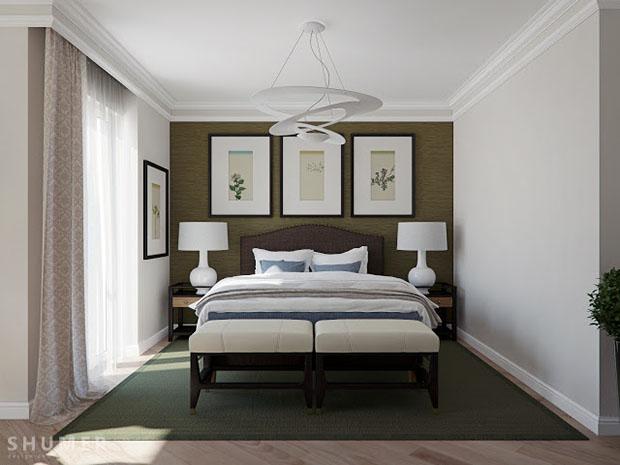ผนังหัวเตียงนอน ไอเดียออกแบบ